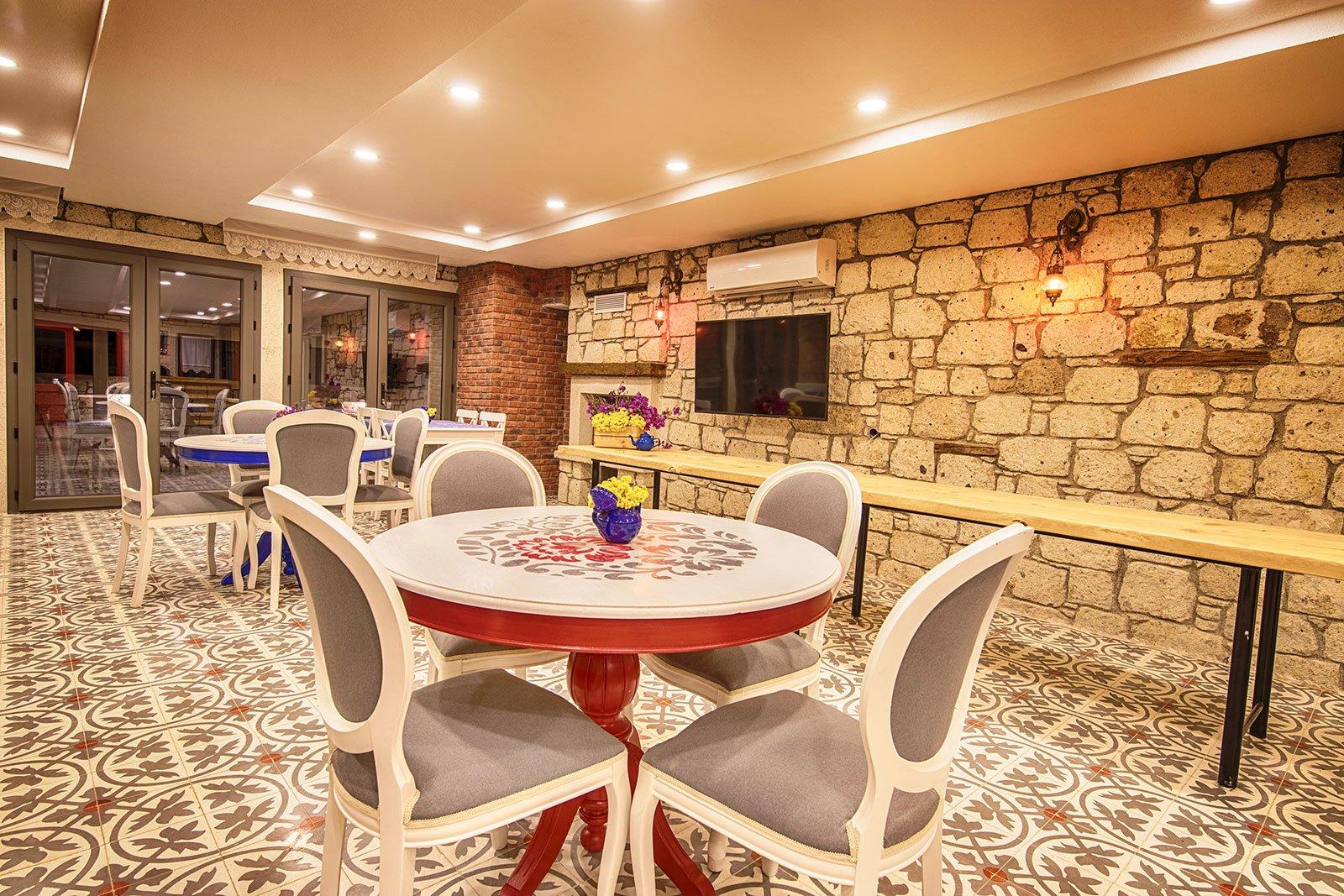 Bademli Konak - Kahvaltı Salonu